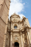 Détail de Valencia Cathedral Photo stock