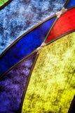 Détail de verre souillé photos libres de droits