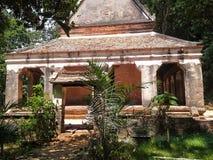 Détail de vieille chapelle, Songkhla, Thaïlande Images libres de droits