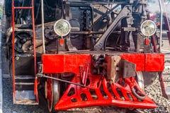 Détail de vieille locomotive à vapeur Photographie stock