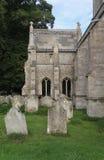 Détail de vieille pierre tombale Images libres de droits
