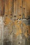 Détail de vieille trappe en bois Photo libre de droits