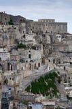 Détail de vieille ville de Matera. images libres de droits