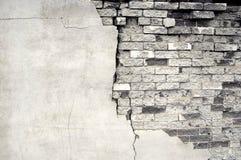 Détail de vieux mur de briques images libres de droits