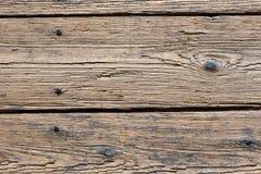 Détail de vieux plancher en bois Images libres de droits