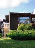 Détail de villas Photo libre de droits