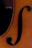 Détail de violoncelle Images stock