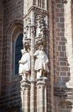 Détail de visibilité directe Reyes de Claustro de Saint Juan De, Photos libres de droits