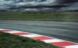 Détail de voie de course Images stock