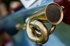 Détail de voiture de vintage - klaxon Photos libres de droits