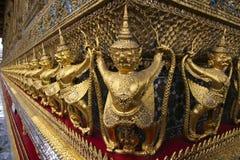 Détail de Wat Phra Kaew, Bangkok Photographie stock libre de droits