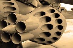 Détail des avions militaires. Sépia. Image libre de droits
