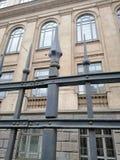 Détail des balustrades du musée photographie stock libre de droits