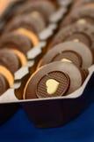 Détail des biscuits de chocolat Photo libre de droits