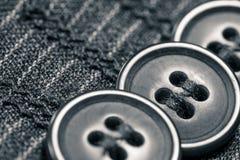 Détail des boutons Photo stock