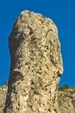 Détail des formations de roche naturelles à la gorge de Jelasnica images stock