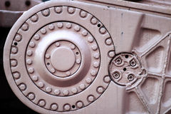Détail des garnitures industrielles photographie stock