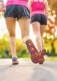 Détail des jambes pendant pulser Photographie stock libre de droits