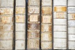 Détail des livres Photos stock