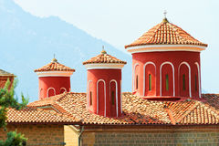 Détail des monastères de Meteora Clifftop Photo libre de droits