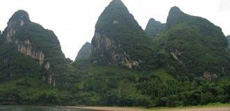 Détail des montagnes de jungle Images libres de droits