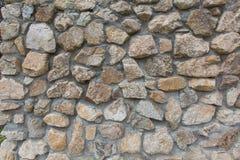 Détail des murs en pierre o Photos libres de droits