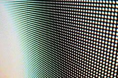 Détail des pixels rétro-éclairés Photo libre de droits