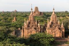 Détail des temples antiques dans Bagan, Myanmar (Birmanie photographie stock libre de droits