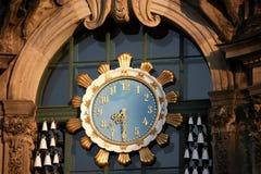 détail Dresde d'horloge image libre de droits