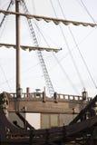 Détail du bateau Image libre de droits
