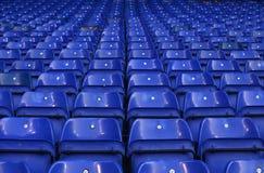 Détail du blanc Hart Lane du stade de Tottenham Photographie stock libre de droits