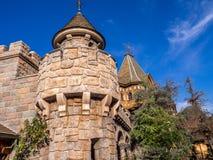 Détail du château du blanc de neige, Fantasyland Photo stock