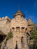 Détail du château du blanc de neige, Fantasyland Image libre de droits