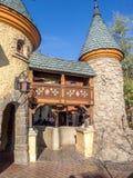 Détail du château du blanc de neige, Fantasyland Photo libre de droits