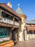 Détail du château du blanc de neige, Fantasyland Photos libres de droits