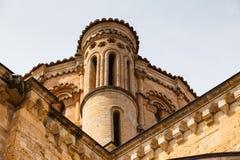 Détail du dôme dans l'église collégiale romane de Toro Images libres de droits
