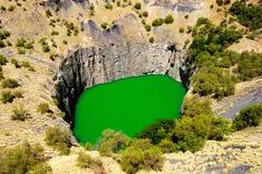 Détail du grand trou à Kimberley Image libre de droits