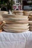 Détail du hitckenware en bois Photographie stock libre de droits