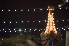 Détail du marché 2014 de Noël Images stock