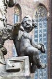 Détail du monument à St John Nepomuk Photographie stock