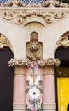 Détail du ³ Morera de Lleà de maison à Barcelone, projet 1902 par t Photographie stock libre de droits