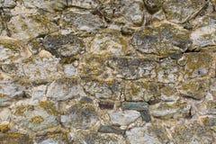 Détail du mur en pierre Images stock