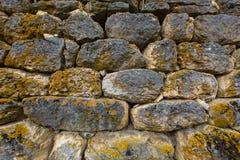 Détail du mur en pierre Image stock