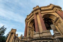 Détail du palais des beaux-arts - San Francisco, la Californie, Etats-Unis image libre de droits