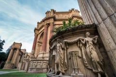 Détail du palais des beaux-arts - San Francisco, la Californie, Etats-Unis image stock