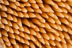 Détail en bambou de macro de cure-dents Image libre de droits