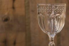 Détail en verre de chef d'oeuvre de Cristal Photographie stock libre de droits