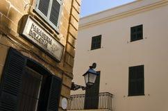 Détail espagnol d'architecture Photos stock
