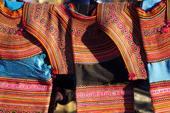 Détail ethnic costume stock photography