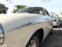 Détail européen de luxe classique de côté de voiture Photographie stock libre de droits